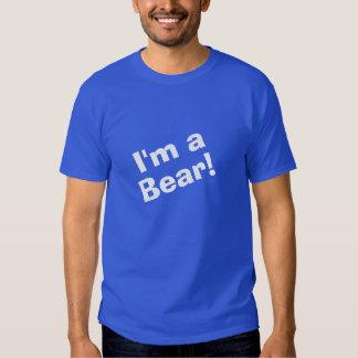 Eu sou um urso tshirts