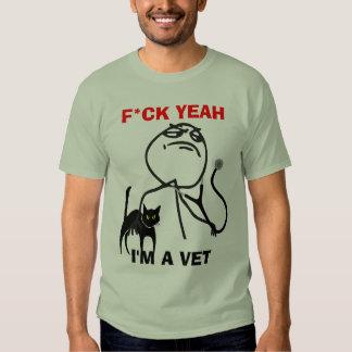 Eu sou um veterinário camisetas