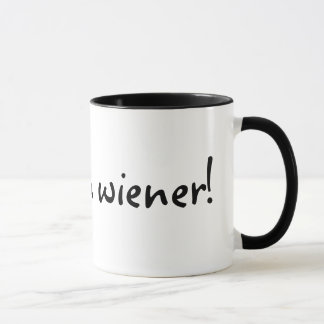 Eu sou um wiener! Caneca