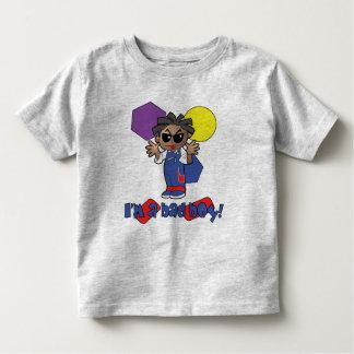 Eu sou uma camisa má da criança t do menino camisetas