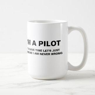 Eu sou UMA CANECA de CAFÉ PILOTO