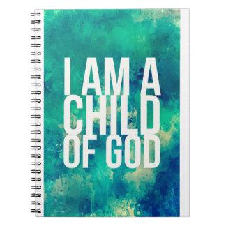 Eu sou uma criança do deus: Caderno para cristãos