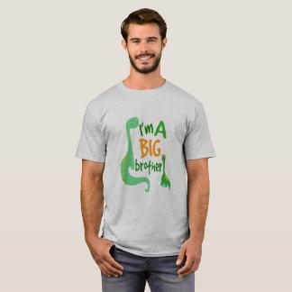 Eu sou uma criança do dinossauro do big brother camiseta