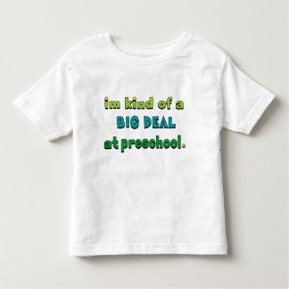 Eu sou uma grande coisa no pré-escolar camiseta