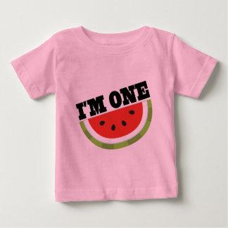 Eu sou uma ideia do presente de aniversário camisetas