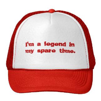 Eu sou uma legenda em meu tempo livre bones