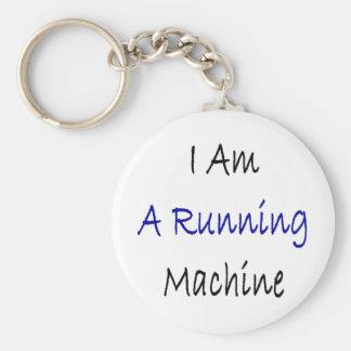 Eu sou uma máquina Running Chaveiro