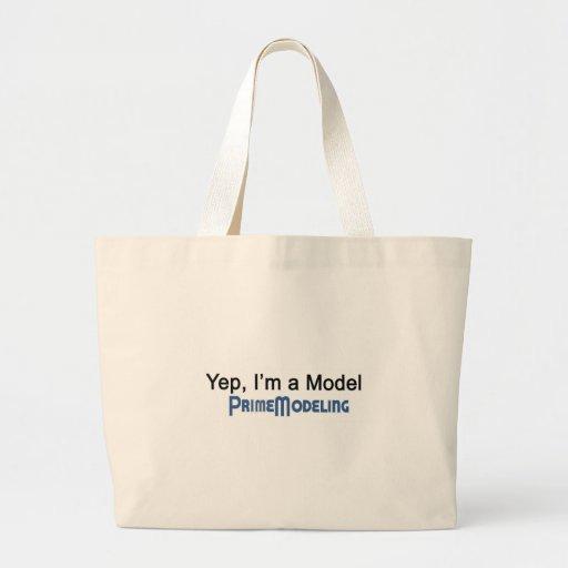 Eu sou uma modelagem principal modelo bolsas
