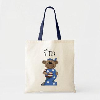 Eu sou urso de 2 aniversários bolsas para compras