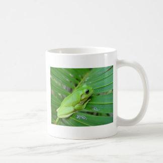 Eu sou verde caneca de café