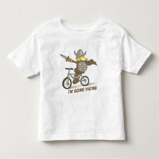 Eu sou Viking indo Camiseta Infantil