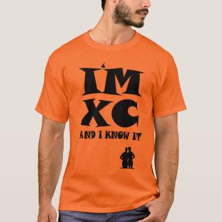 Eu sou XC e eu sei-o: Corredor do país transversal Camiseta