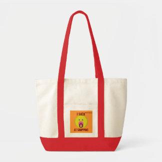 Eu sugo em comprar o design engraçado do saco bolsa para compras