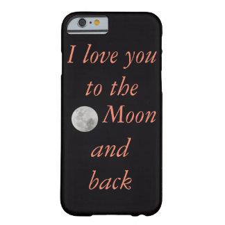 """""""Eu te amo às capas de iphone da lua e da parte"""