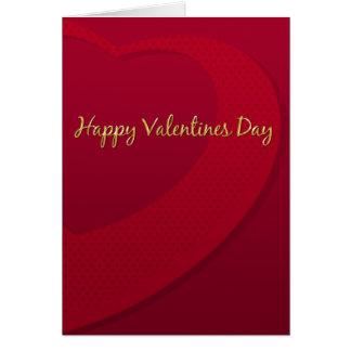 Eu te amo cartão do dia de Valenines