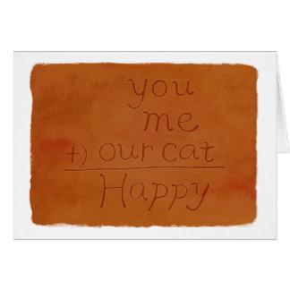Eu te amo cartão dos namorados para o amante Nerdy