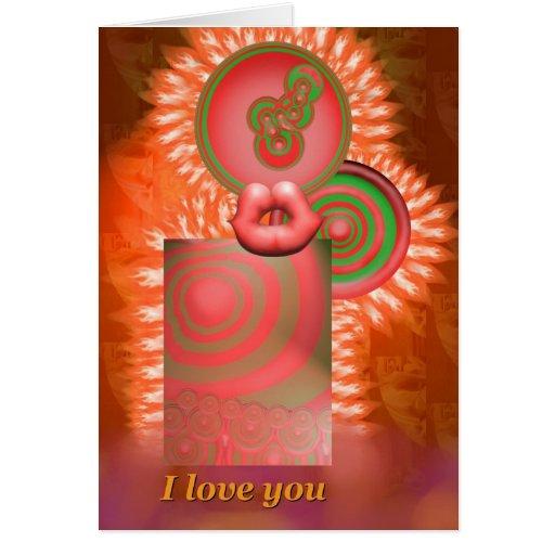 Eu te amo cartão por Anjo Lafin