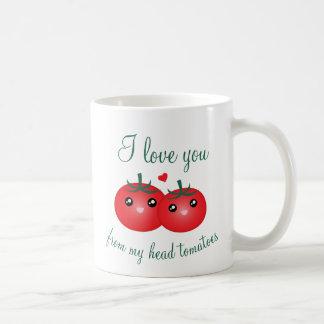 Eu te amo de minha chalaça bonito da fruta dos caneca de café