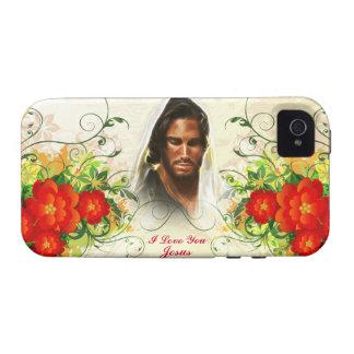 Eu te amo exemplo de Jesus/case mate da arte Capas Para iPhone 4/4S