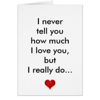 Eu te amo, feliz dia dos namorados inspirado cartão comemorativo