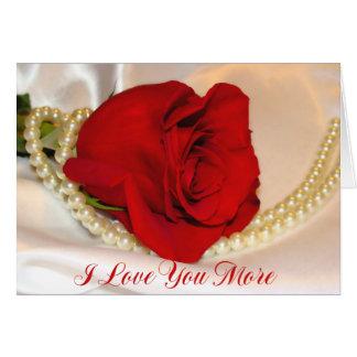 Eu te amo mais cartão