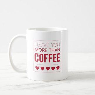 Eu te amo mais do que a caneca de café