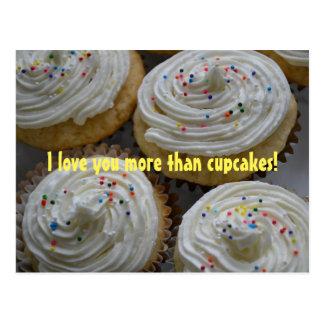 Eu te amo mais do que… o cartão dos cupcakes