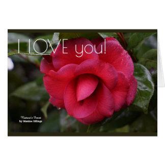 """""""Eu te amo"""" o cartão"""