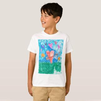 Eu te amo o divertimento caçoa a camisa com o