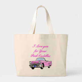 Eu te amo para seu 50 cor-de-rosa do vintage do ca bolsa para compra