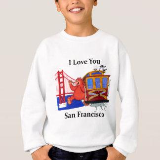 Eu te amo San Francisco Agasalho