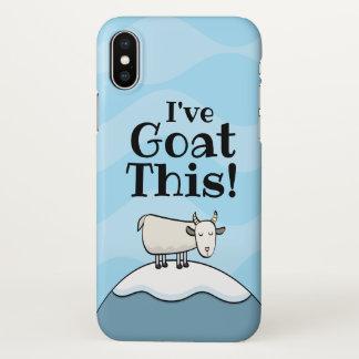 Eu tenho a cabra esta capa de telefone