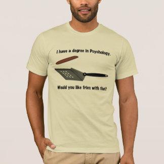 Eu tenho um grau no t-shirt da psicologia camiseta