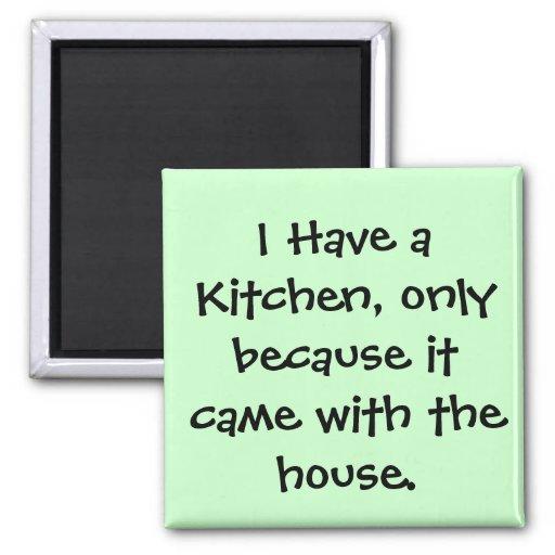 Eu tenho uma cozinha… imãs