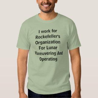 Eu trabalho ROFLMAO Tshirt