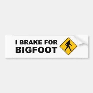 Eu travo para Bigfoot Adesivo Para Carro