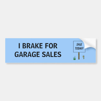 EU TRAVO PARA VENDAS DE GARAGEM - autocolante no Adesivo Para Carro