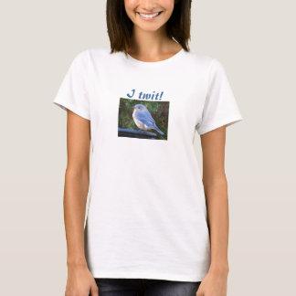 Eu twit! camisa do bluebird