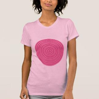 Eu uso COR-DE-ROSA - cofre forte do som n: Piscar T-shirts