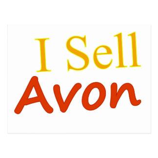 Eu vendo o fundo do branco de Avon Cartão Postal