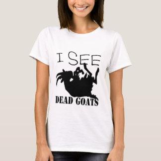 Eu ver cabras inoperantes camiseta