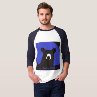 Eu vi um urso em Michigan Camiseta