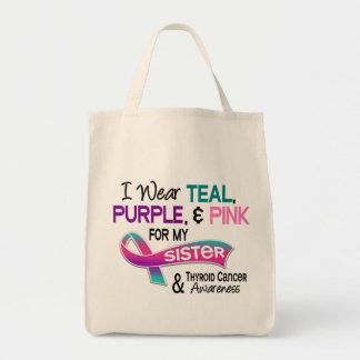 Eu visto a fita do tiróide para minha irmã sacola tote de mercado