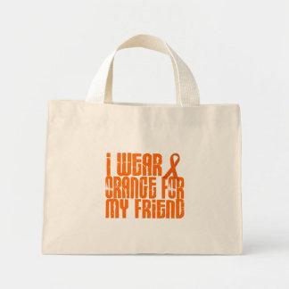 Eu visto a laranja para meu amigo 16 sacola tote mini