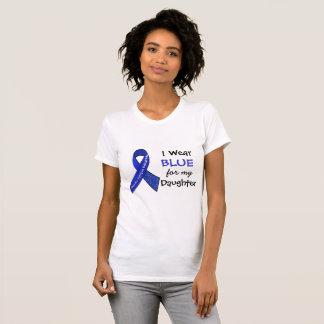 Eu visto e azul para minha camisa do CFS da filha