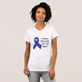 Eu visto e azul para minha camisa do CFS do filho