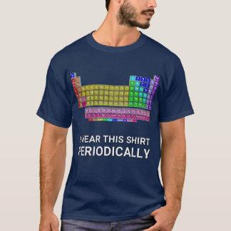 Eu visto esta mesa da camisa periòdicamente dos