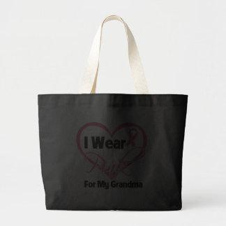 Eu visto o cancro da mama cor-de-rosa da avó da fi bolsas de lona