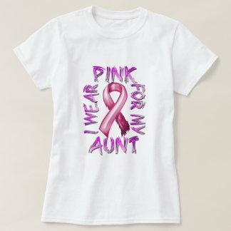 Eu visto o rosa para meu Aunt.png T-shirt