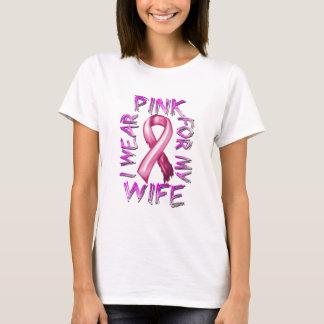 Eu visto o rosa para meu Wife.png Camiseta